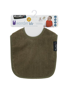 Mum 2 Mum Wonder Bib, Olive product photo