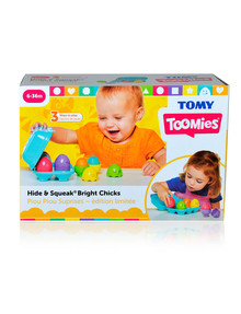 Tomy Hide & Squeak, Eggs Bright Chicks product photo