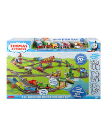 Thomas The Tank Engine All Around Sodor Deluxe Set product photo