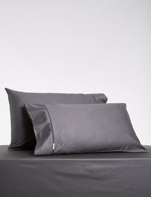 Kate Reed Lucy Standard Pillowcase Pair, Charcoal product photo