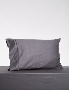 Kate Reed Lucy King Pillowcase, Charcoal product photo