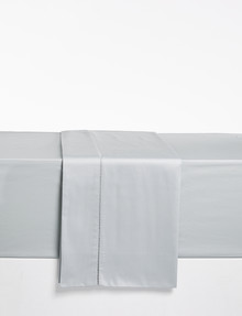 Kate Reed Lucy Flat Sheet, Silver product photo