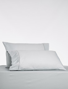 Kate Reed Lucy Standard Pillowcase, Pair, Silver product photo