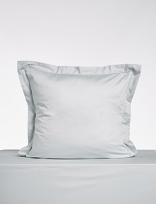 Kate Reed Lucy Euro Pillowcase, Silver product photo