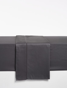 Kate Reed Lucy Flat Sheet, Charcoal product photo