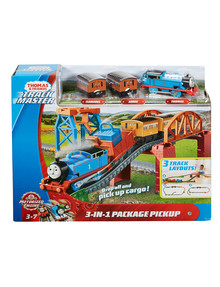Thomas The Tank Engine TrackMaster 3 in 1 Package Pick Up Set product photo