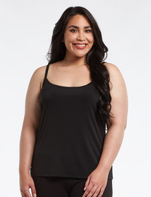 Bodycode Curve Dry-Knit Cami, Black product photo