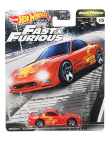 Hot Wheels Fast and Furious, Assorted product photo