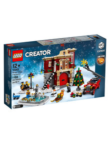 Lego Creator Expert Winter Village Fire Station, 10263 product photo