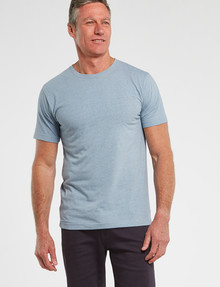 Chisel Ultimate Crew-Neck Tee, Light Blue Marle product photo