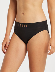 Bonds Body Bases Hi Bikini Brief, Black product photo