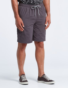 Kauri Trail Camino Short, Charcoal product photo