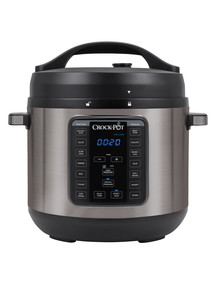 Crock-Pot XL 7.6 Litre Crockpot Pressure Cooker, CPE300 product photo