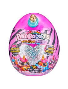 Rainbocorns Plush Wild Surprise, Series 3, Assorted product photo