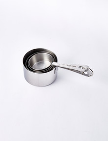 Stevens Stainless Steel Measuring Cups, Set-of-4 product photo
