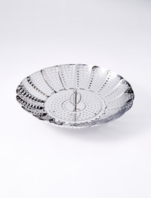 Stevens Stainless Steel Steaming Basket, 24cm product photo