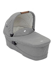 Joie Ramble Carry Cot Versatrax, Grey Flannel product photo