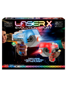 LaserX Evolution Blasters, 2-Pack product photo