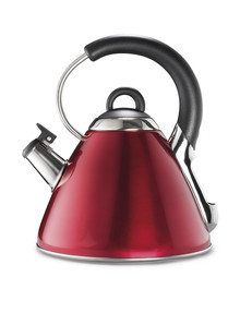 Baccarat Brillante Stove Kettle, 2.2L, Red product photo