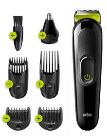 Braun All-In-One Trimmer Styling Kit, MGK3221 product photo