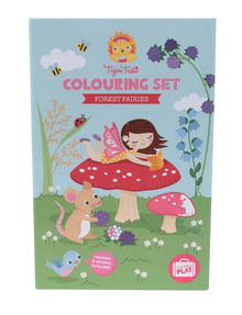Tiger Tribe Neon Colouring Set, Forest Fairies product photo