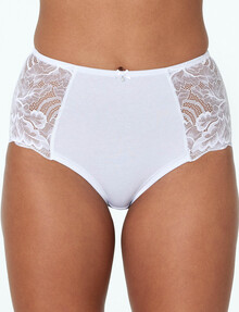 Bendon Embrace Full Brief, White product photo