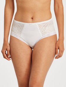 Fayreform Finesse Full Brief, White product photo
