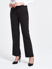 Oliver Black Two-Way-Stretch Classic Pant, Longer-Length, Black product photo