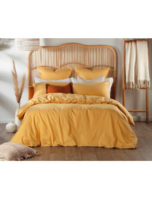Domani Trieste Duvet Cover, Honey Suckle product photo