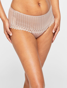 Berlei Understate Lace Midi Brief, Dust Blush product photo