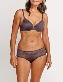 Berlei Understate Lace Midi Brief, Black Forest product photo
