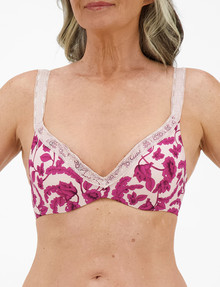 Berlei Barely There Luxe Contour Bra, Summer Wine, B-DD product photo