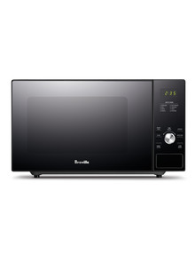 Breville Silhouette Flatbed Microwave, LMO428BLK product photo