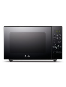 Breville Silhouette Flatbed Compact Microwave, LMO420BLK product photo