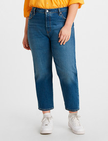 Levis Plus Jean 501 Crop Charleston High product photo