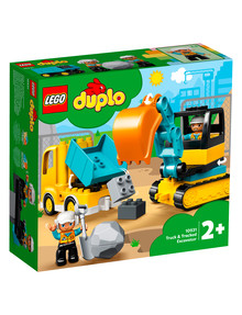 Lego Duplo Truck & Tracked Excavator, 10931 product photo