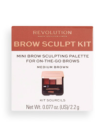 Makeup Revolution Brow Sculpt Kit product photo