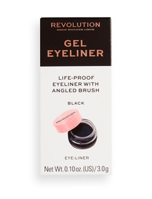 Makeup Revolution Gel Eyeliner Pot With Brush product photo
