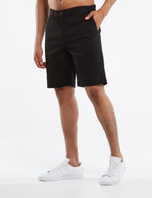 Gasoline Stephan Chino Short, Black product photo