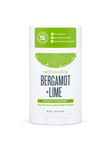 Schmidt's Stick Deodorant, Bergamot & Lime, 75g product photo