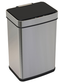 Stevens Sensor Bin, Stainless Steel, 50L product photo