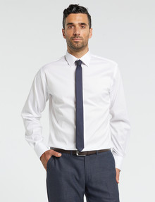 Van Heusen Stretch Long-Sleeve Euro Fit Shirt, White product photo