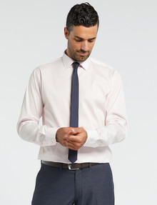 Van Heusen Stretch Long-Sleeve Euro Fit Shirt, Pink product photo