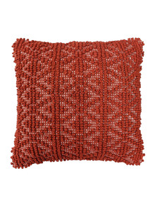 Domani Cosetta Cushion, Burnt Ochre product photo