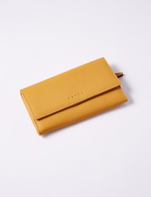 Carte Trifold Wallet, Mustard product photo