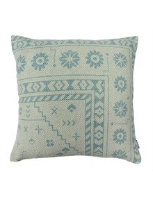 Domani Faro Cushion, Tile Blue product photo