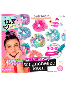 I Love You Scrunchie Loom DIY Kit product photo