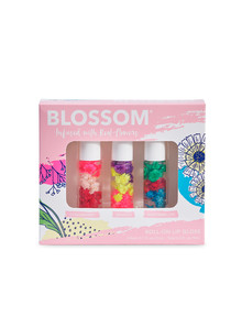 BLOSSOM 3-Piece Mini Roll-On Lip Gloss Gift Set product photo