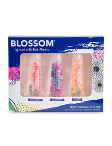 BLOSSOM 3-Piece Tube Lip Gloss Gift Set product photo