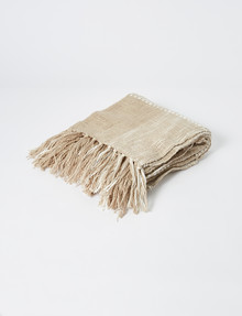 Domani Pisa Throw, Cuban Sand product photo
